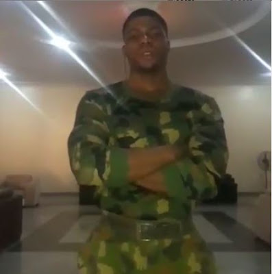 """Even When You Hate Us, We Would Still Protect You""  - Nigerian Soldier (VIDEO) 1"