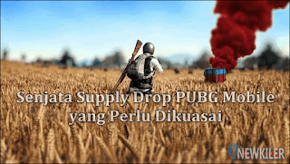 Senjata Supply Drop PUBG Mobile