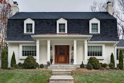 Model Atap rumah minimalis mansard