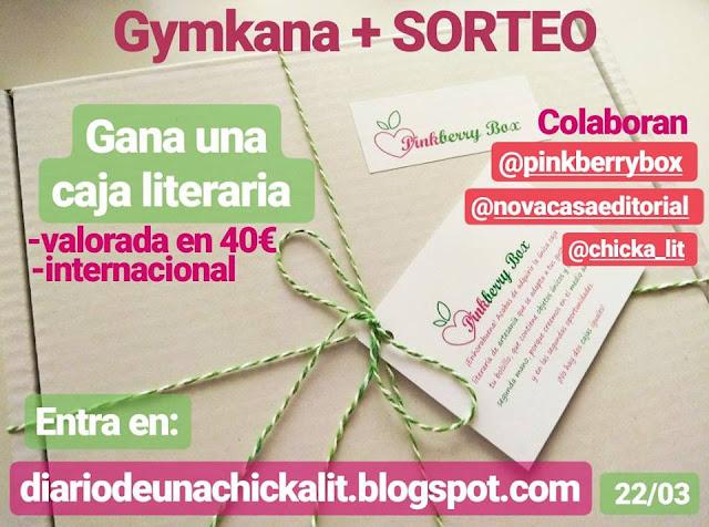 GYMKANA + SORTEO de una CAJA LITERARIA