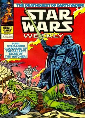 Star Wars Weekly #85, Darth Vader