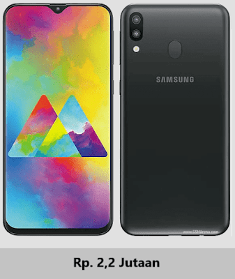 Harga terbaru Samsung Galaxy M20