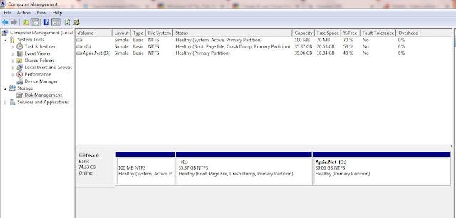 Virtual Hard Disk sebagai Hard Disk nyata di Windows