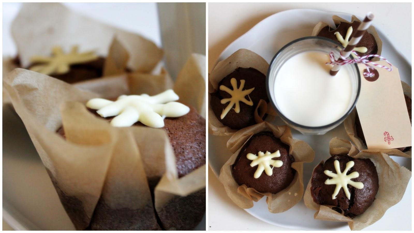 Winterwunder: Fluffige Schoko-Muffins