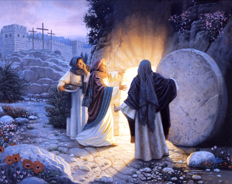 Peter knew about the power of God because he had witnessed also the resurrection of Jesus Christ (Mark 16:1-7).