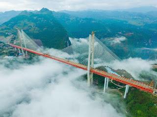 Donde está el puente más alto del mundo. Cuanto mide el puente mal alto del mundo