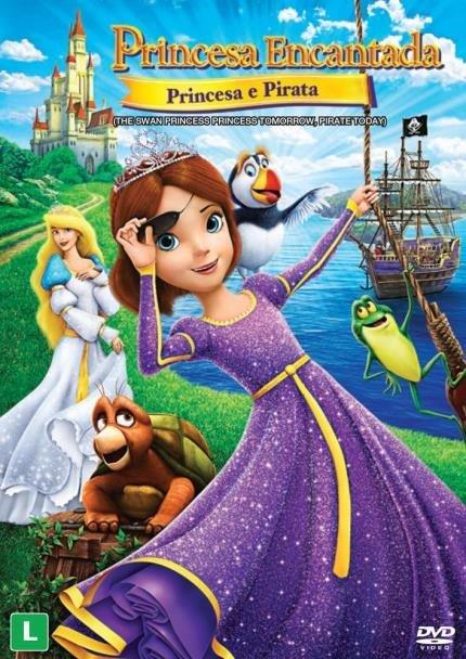 Princesa Encantada : Princesa e Pirata