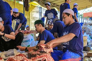 370 Kambing dan 17 Sapi Diqurbankan di Ponpes Dalwa