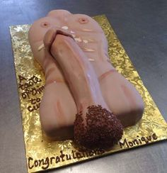 All Girls Party thick penis cake image