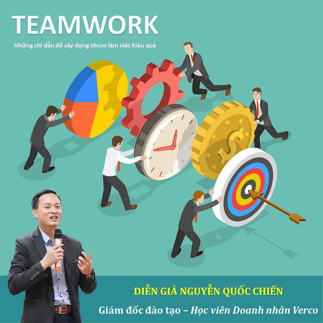 Teamwork - Những chỉ dẫn để xây dựng nhóm làm việc hiệu quả