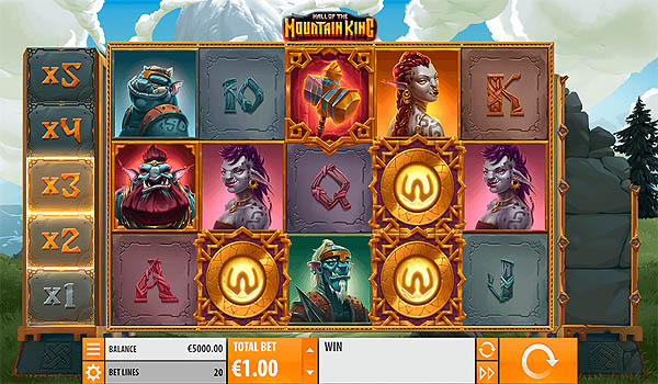 Main Slot Gratis Indonesia - Hall of the Mountain King (Quickspin)