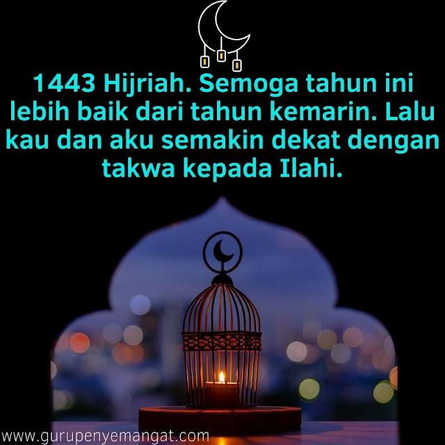 Semoga 1443 Hijriah Lebih Baik dari Tahun Kemarin