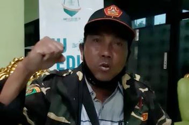 Demi Mendukung Pemerintah, Banser Ini Siap Jadi Orang Kedua yang Divaksin Setelah Jokowi