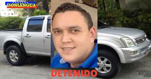 Capturado por asesinar a tiros a su propio suegro para robarle el carro en Anzoátegui