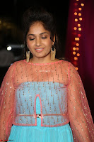 Madhvi Latha in Spicy Transparent Anarkali Dress at Zee Telugu Apsara Awards 2017 32.JPG