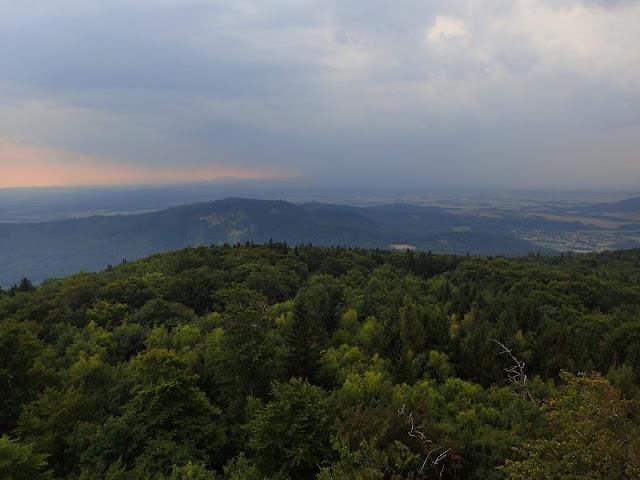 Ślężańska wieża oferuje fantastyczne panoramy