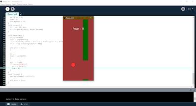 Processing Flappy Bird Oyunu Yapımı