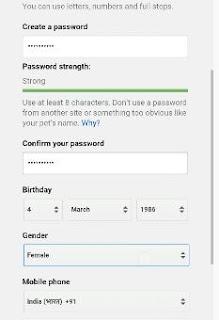 cara membuat gmail baru di android