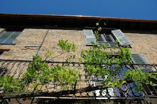 Un balcon à Châtillon