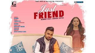 Just Friend Lyrics - Remmy - Lyricsonn