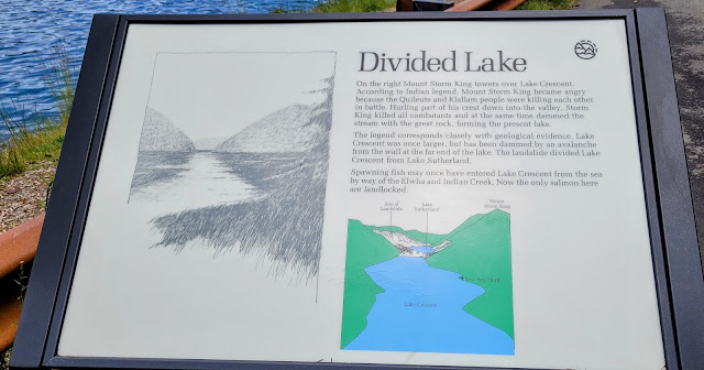 Information on Lake Crescent