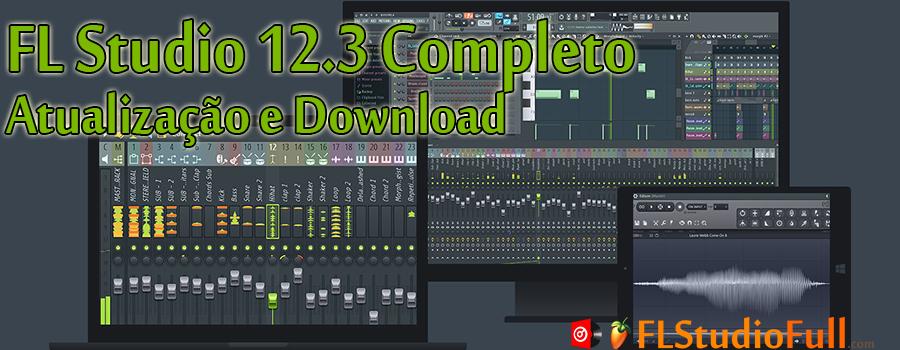 FL Studio 12.3 Completo - Atualização e Download