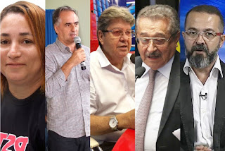 Candidatos ao Governo DO Estado realizam reuniões de campanha nesta terça-feira