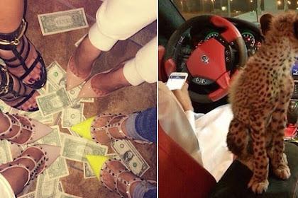 Begini Cara Anak Orang Kaya di Dubai Hamburkan Uang