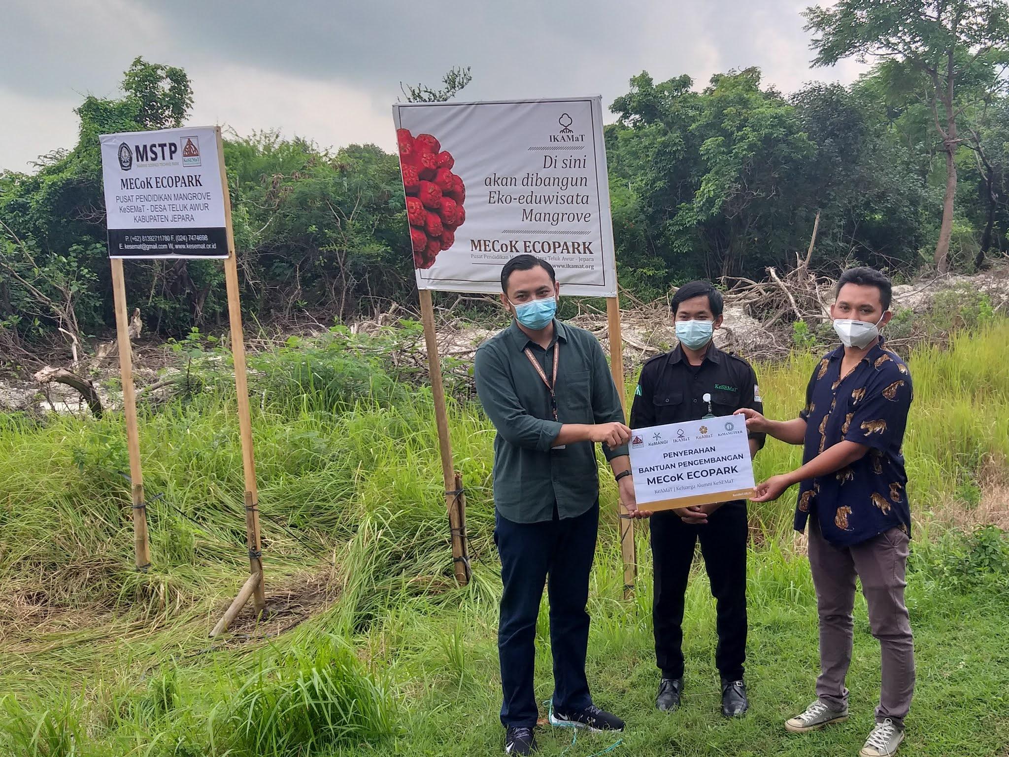 KeAMaT Serahkan Bantuan Pengembangan MECoK Ecopark