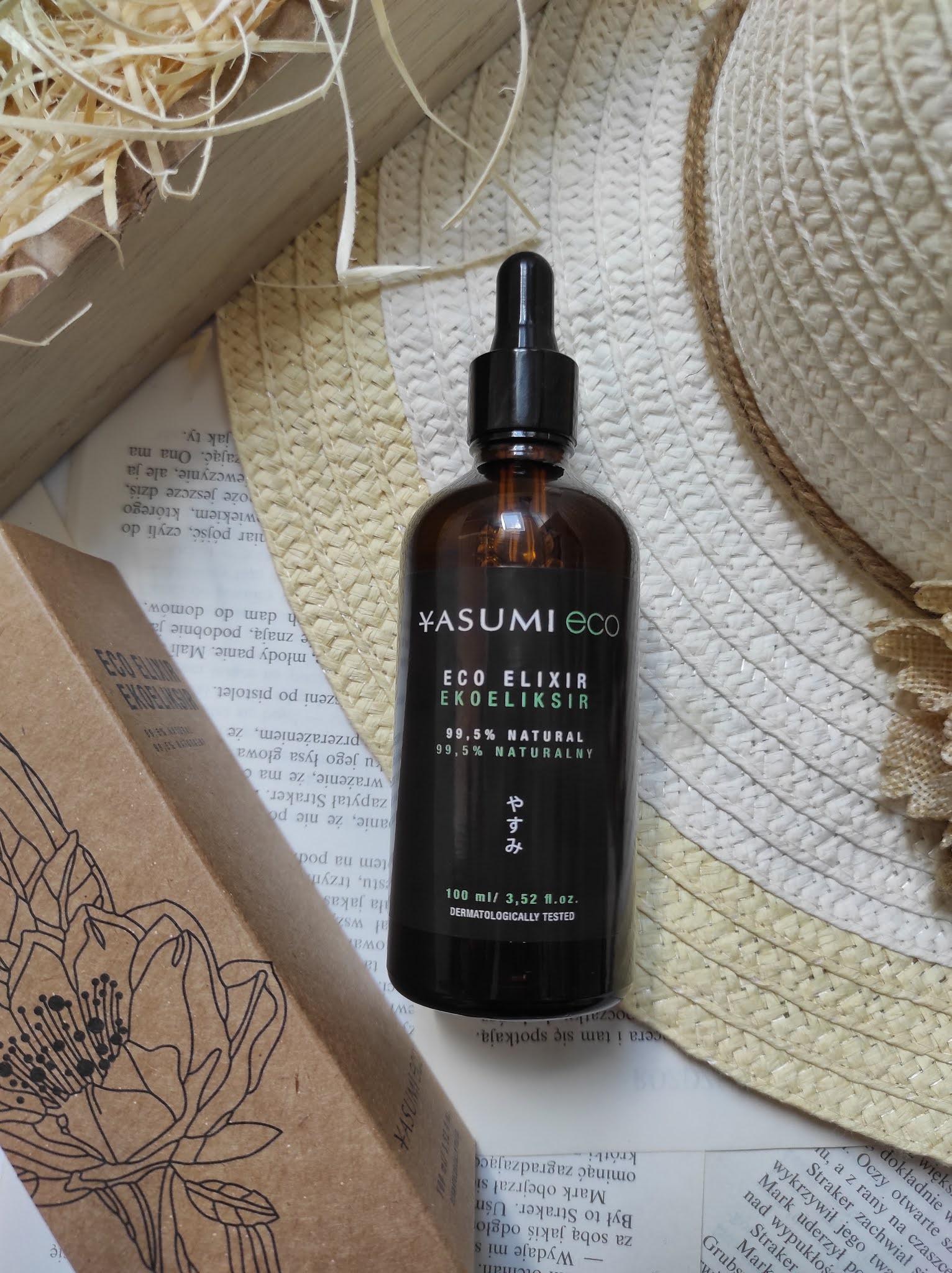 Eco Elixir Yasumi - olejek do pielęgnacji twarzy, ciała i włosów