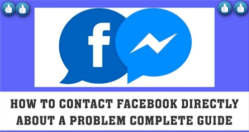 How To Contact Facebook Team