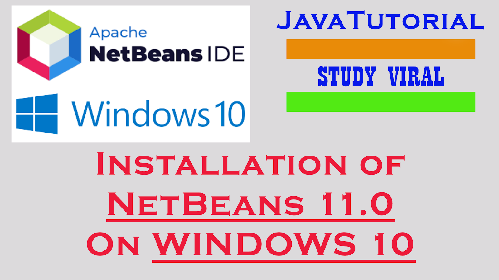 Install NetBeans 11 IDE on Windows 10 - Study Viral ~ Study
