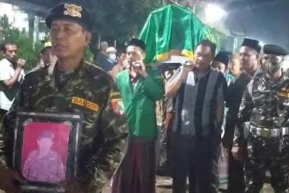 Jadi Imam Sholat Tarawih, Anggota Banser di Jombang Meninggal Mendadak