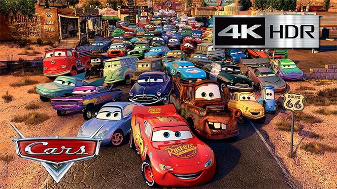 Cars (2006) 4K UHD [HDR] Latino-Castellano-Ingles