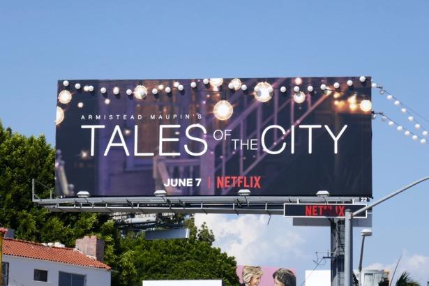 Tales of the City Netflix series billboard