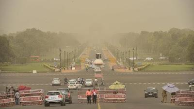 Delhi pollution - Με 40 βαθμούς το Π/Σ/Κ στη Λάρισα
