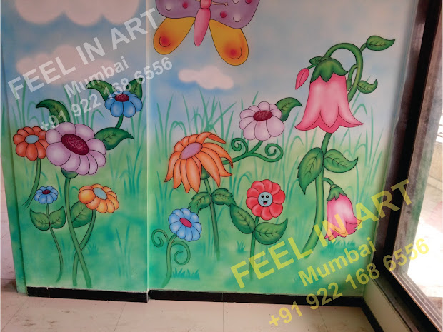 Play School Wall Painting Ideas