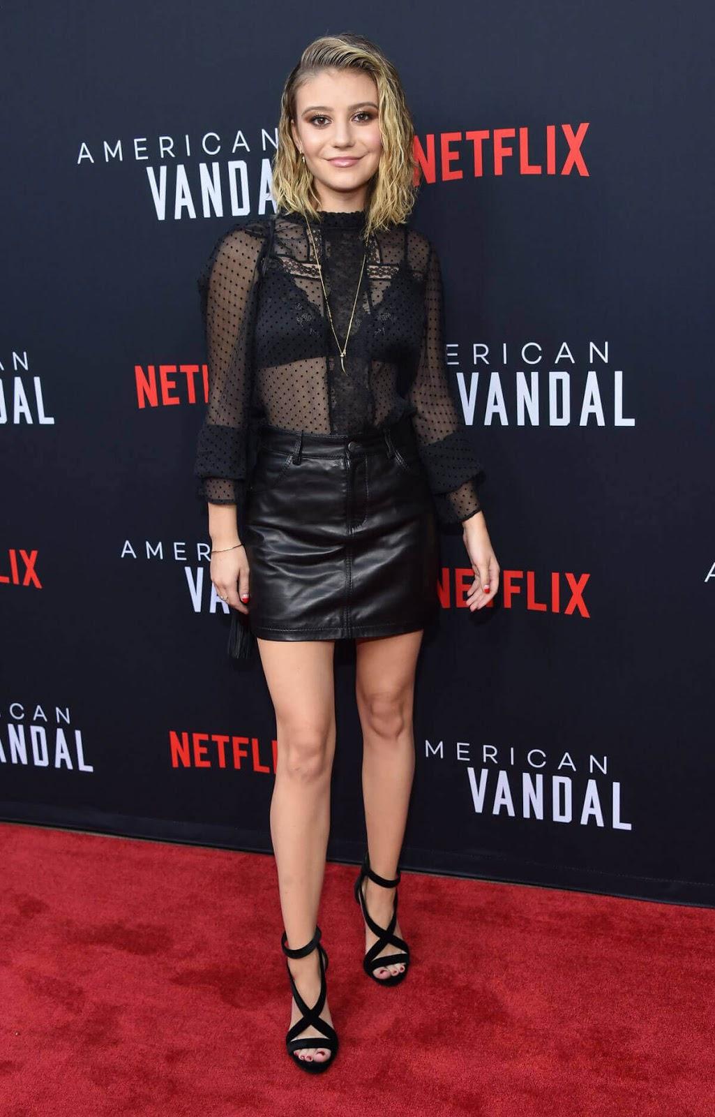 Special Screening Genevieve Hannelius  at American Vandal