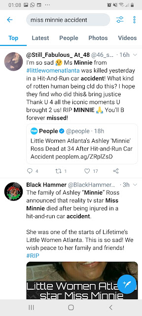 ashley minnie ross dead