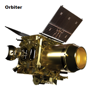 orbiter for lunar mission