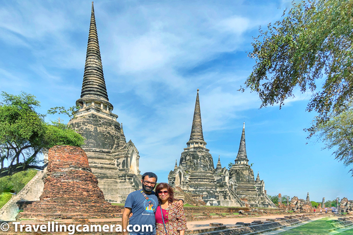 Ayutthaya is temple city of Thailand which has lot of historical temples across the city and are maintained well till date. When you plan a visit to Ayutthaya it becomes hard to decide how much time is enough and what all explore during that time. It depends upon how much like to explore the historical places, as for some people it may be very boring to keep walking for days to see old temples with little variation in their architecture. We have tried to compile this Blogpost assuming that you are planning 1/2 day trip to Ayutthaya.     Ayutthaya being a UNESCO World Heritage City has lot of temples across the city and many of them are located around rivers in Ayutthaya Town. Taking a boat ride in Aytthaya can expose you to various other experiences apart from some of the newer active Buddha temples in the town. This boat ride takes you closer to the lifestyle of people in Ayutthaya town of Thailand.