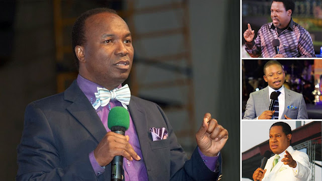 Pastor Chris Oyakhilome, Prophet TB Joshua & Prophet Bushiri Exposed As Using Witchcraft - Pastor Sunday Adelaja [Videos]