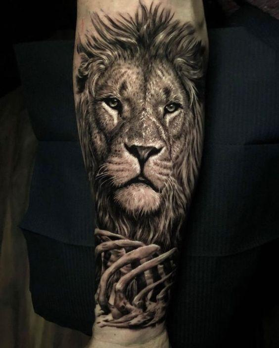 significado-tatuaje-leon