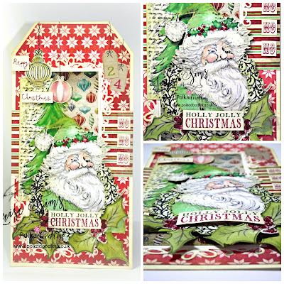 Getting ready for Christmas with Polkadoodles ... ~ Louise Sims Papercrafter