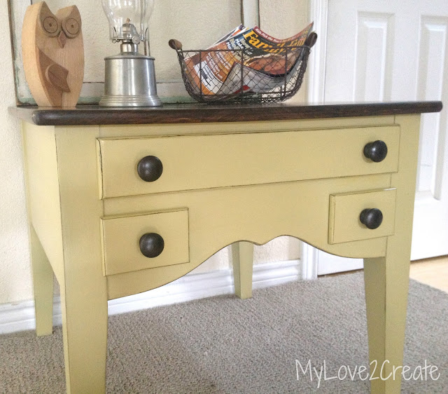 MyLove2Create,end table makeover