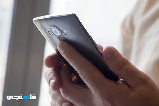 كيفية تصوير الشاشة في هاتف LG G4