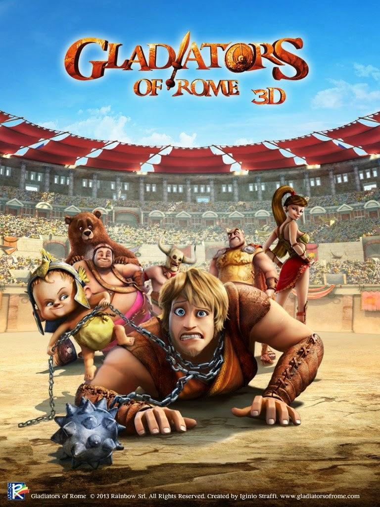 Gladiatorii din Roma (2012) – Desene animate dublate in romana