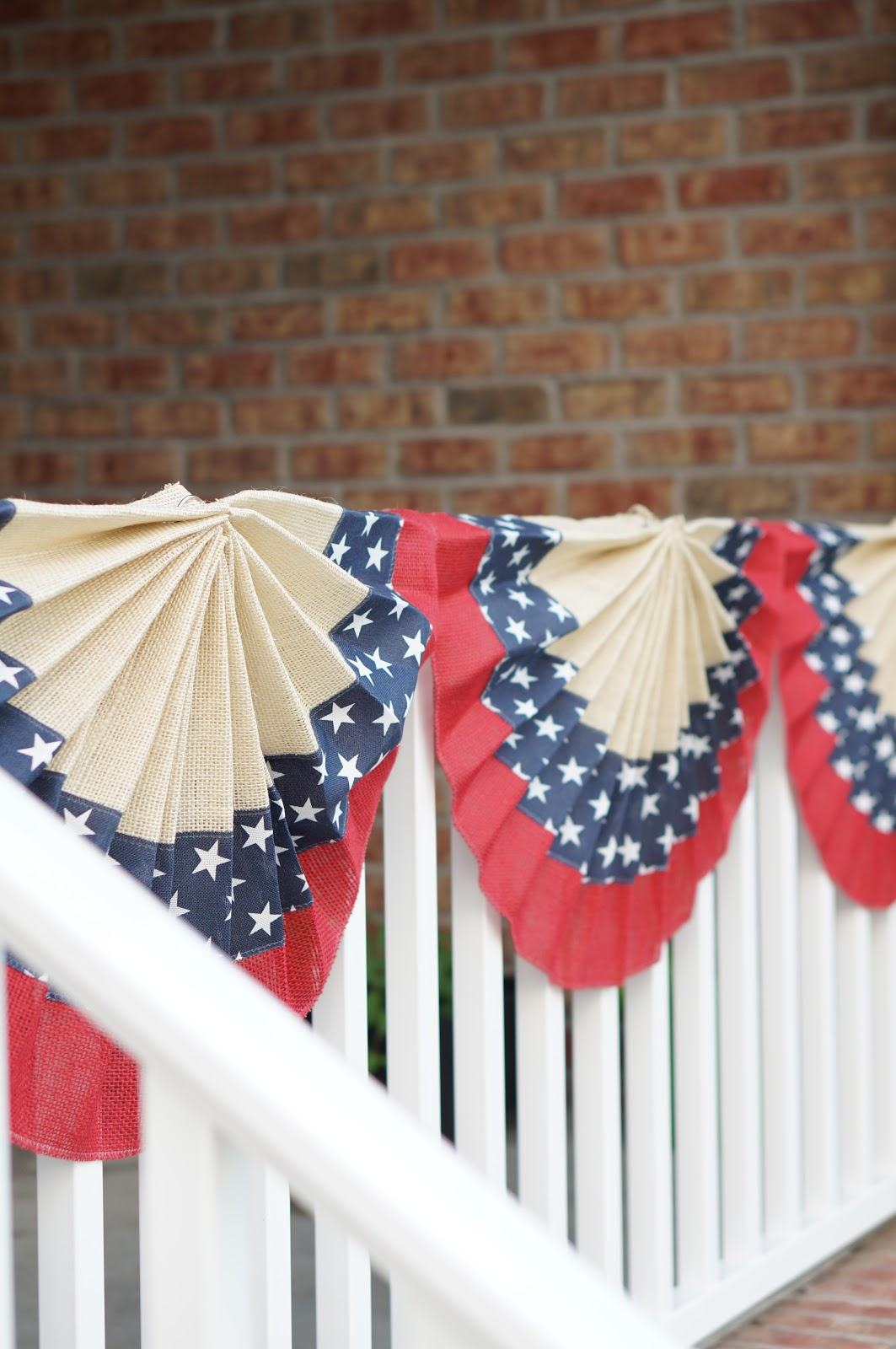 Popular North Carolina blogger Rebecca Lately shares her porch refresh for the Fourth of July.  Check it out if you love seasonal decor!