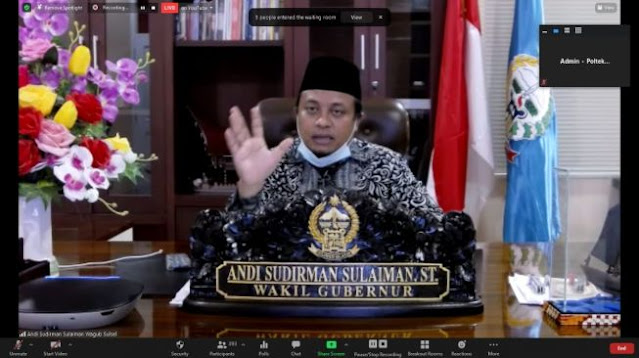 Andi Sudirman Minta Pemerintah Daerah Tetap Pasang Foto Nurdin Abdullah
