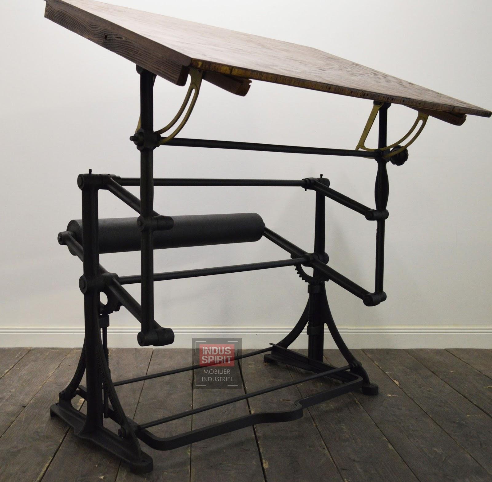 Table A Dessin Industriel ancienne table à dessin darnay